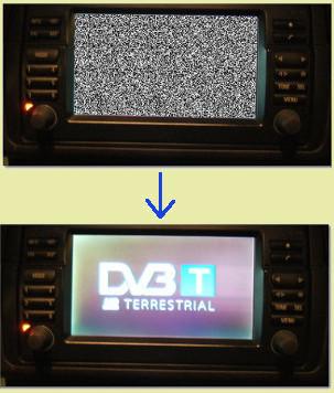 PTV - Digital TV interface board for BMW